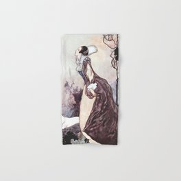 """Some Glory In Their Birth"" Fairy Art by Charles Robinson Hand & Bath Towel"