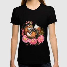 Flora and Fauna Fox T-shirt