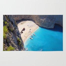 Hidden Beach & Shipwreck 2 Rug