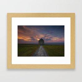 The Temple Of Light II Framed Art Print