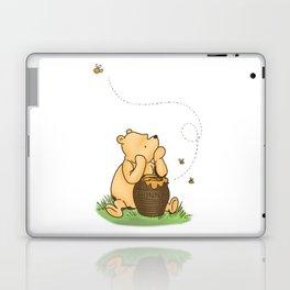 Classic Pooh with Honey - No background Laptop & iPad Skin