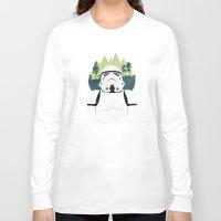 stormtrooper Long Sleeve T-shirts featuring Stormtrooper by Robert Scheribel