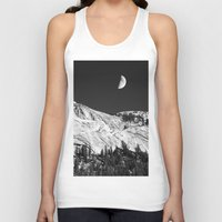 yosemite Tank Tops featuring Yosemite by Claude Gariepy