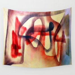 Paul Klee Intuition Wall Tapestry