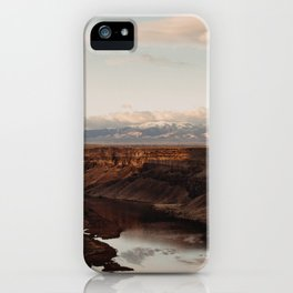 Snake River, Idaho - Scenic Desert Canyon iPhone Case