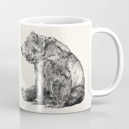 Bear // Graphite Coffee Mug