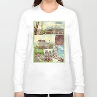 europe Long Sleeve T-shirts featuring Vintage Europe by 4364