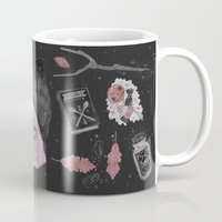 stickers Mugs featuring Magical ϟ Autumn by lOll3