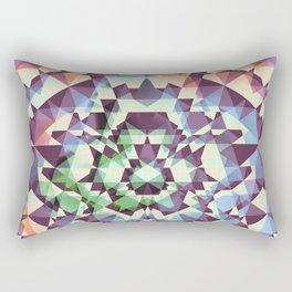 Cyans of the Five Rectangular Pillow