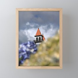 Church tower Framed Mini Art Print
