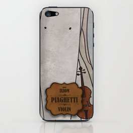 Piaghetti from Ixiom (Violin) iPhone Skin
