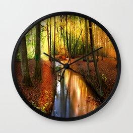 Forgotten Creek Wall Clock