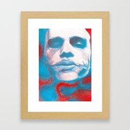 The Jokester Framed Art Print