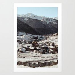 Svaneti Art Print