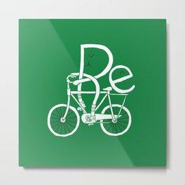 Re-cycling Metal Print