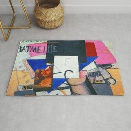 Kazimir Malevich Composition with Mona Lisa Rug
