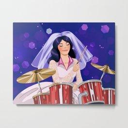 Lane's Wedding Day Metal Print