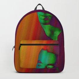 Double portrait Japan Backpack