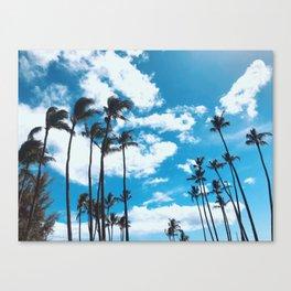 Kona Winds & Kailua Palms Canvas Print