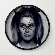 CATHERINE DENEUVE Wall Clock