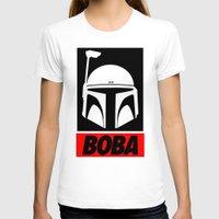boba T-shirts featuring Defy-Boba by IIIIHiveIIII