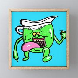 Ecto Kool-Aid Man Framed Mini Art Print