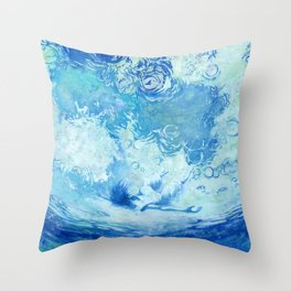 Water ceilling Throw Pillow