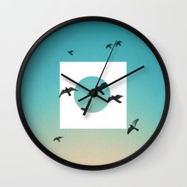 Nature Wall Clock