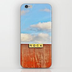 ROCK - Scrabble in the City iPhone & iPod Skin