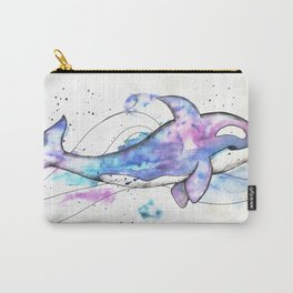 Orca in colors Carry-All Pouch
