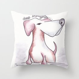 Chappy Throw Pillow