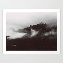 MOUNTAINSIDE Art Print