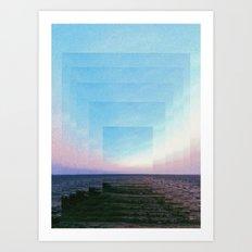INFINITE 2 Art Print