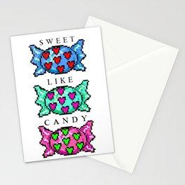Sweet like candy Stationery Cards