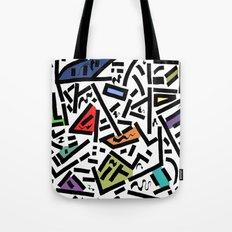 Urban Rythm Tote Bag