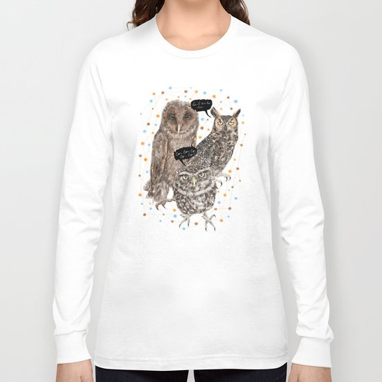 h'Hoo-hoo Long Sleeve T-shirt