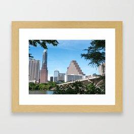 Austin Skyline Framed Art Print