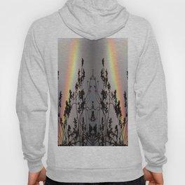 Rainbow Silhouette Square Hoody
