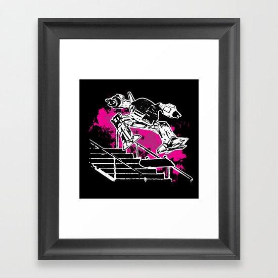 SHRED-209 Framed Art Print