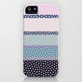 Dots and Stripes 4 iPhone Case