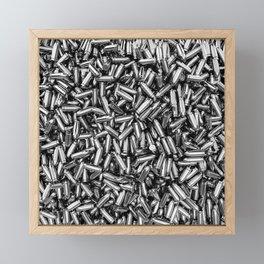 Silver bullets Framed Mini Art Print