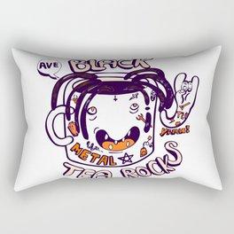 Black tea rocks Rectangular Pillow