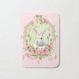Spring Bunny Bath Mat