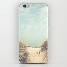 The Way To The Beach iPhone & iPod Skin