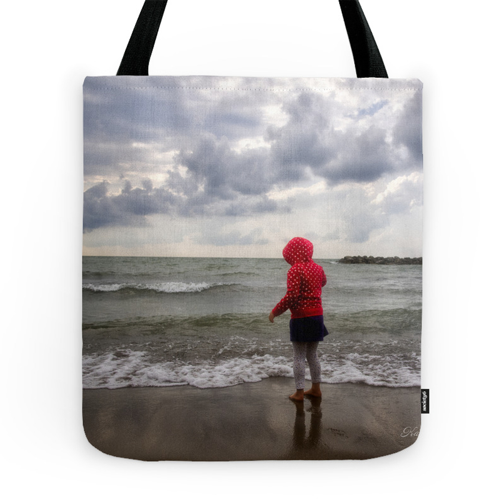 Beach Girl Tote Purse by kathyweaver (TBG7640127) photo
