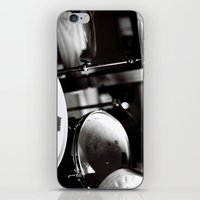 drums iPhone & iPod Skins featuring Drums by TomP