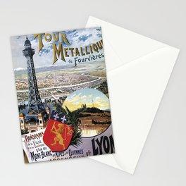 Vintage Travel Lyon Stationery Cards