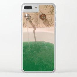 Zen Water Escape Clear iPhone Case