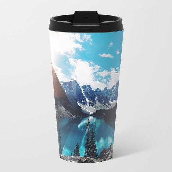 Lake Moraine Metal Travel Mug