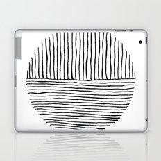 Circle : Vertical / Horizontal Laptop & iPad Skin